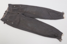 Luftwaffe Flak helper's trousers