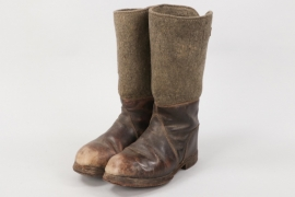 Wehrmacht winter boots - RB-numbered