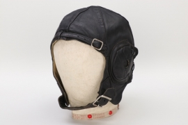 Great Britain - leather flight helmet - D. Lewis Ltd.