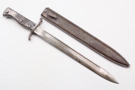 """WWI German Ersatz bayonet - """"Aushilfsseitengewehr"""""""
