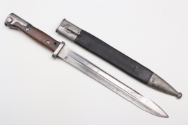 """Prussia - bayonet SG 84/98 a.A. """"13.R.5.42."""" & """"B.16.R.5.7."""""""