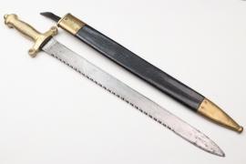 Switzerland - fascine knife M 1842/52 with sawback blade - Wester