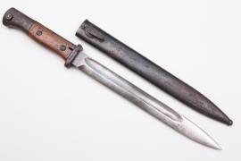 Prussia/Reichswehr - bayonet SG 84/98 n. A. - Herder