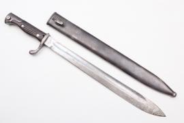 Prussia - WWI bayonet SG 98/05 n.A. - ERFURT