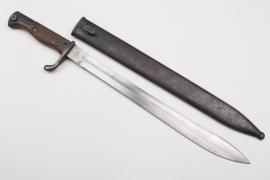 Prussia - bayonet SG 98/05 n.A. - Dt. Maschinenfabrik