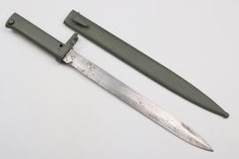 """WWI German Ersatz bayonet - """"Notbajonett"""""""
