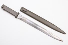 """WWI Ersatz bayonet """"Aushilfsseitengewehr"""""""
