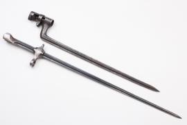 Unknown triangular bayonet