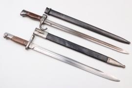 France & Spain - two bayonets