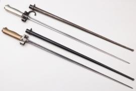 France - lot of two socket bayonets