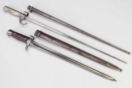 France - two bayonets