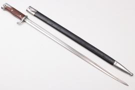 Peru - bayonet SG 98 n.A. by Simson - matching number