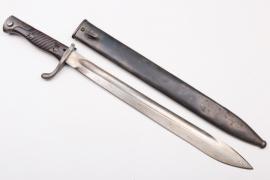 Prussia - WWI bayonet SG 98/05 n.A. - Simson