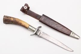 German hunting knife