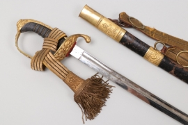 Austria-Hungary - K.u.K. sabre M 1889 for government officials with hangers & portepee