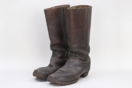 WWI marching boots - EM/NCO