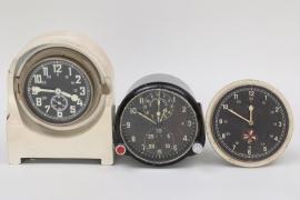 "Germany & Soviet Union - ""Funkraumuhr"", aircraft gauge & truck tachograph"