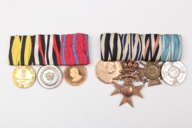 Imperial Germany - two medal bars