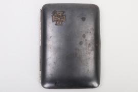 1917 WWI engraved cigar case
