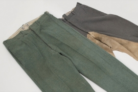 2 x Wehrmacht trousers