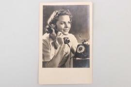 "Third Reich ""calling lady"" portrait photo"