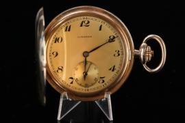 Longines - Pocketwatch Gold Double (Savonette)