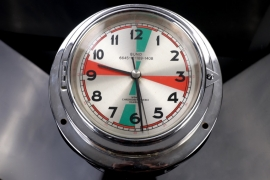 Wempe - Bundeswehr Quartz ship clock around 1980