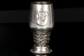 1924 Zeppelin LZ 126 commomorative cup - 800 silver