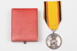 Reuss - Merit Medal in silver without swords in case (1885–1918)