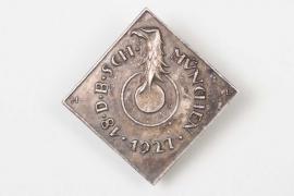 1927 Münster shooting badge - Deschler