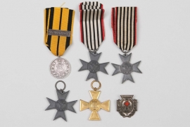 Imperial Germany - lot of six badges