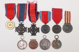 Imperial Germany - lot of ten medals