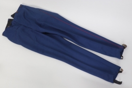 Bavaria - named officer's parade trousers