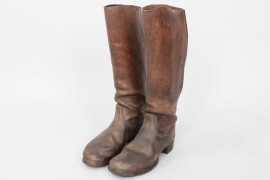 Wehrmacht Kavallerie riding boots - marked