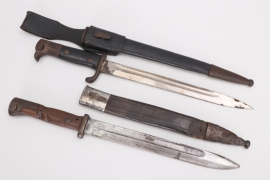 Imperial Germany - two bayonets
