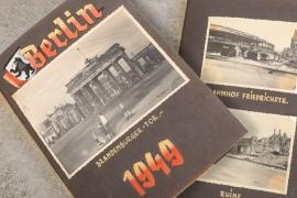 1949 photo album - city of Berlin
