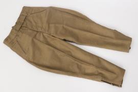 Heer tropical breeches - Italian cloth