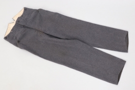 Luftwaffe straight field trousers - LBA41