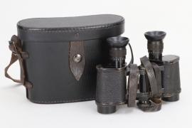 WWI binoculars 6x24 in case - Hensoldt