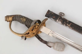 Prussia - IOD 89 Infantry officer's sword with portpee - engraved