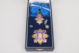 Spain - Order of Civil Merit, Grand Cross & Commander' Cross in case