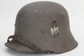 Heer M18 single decal helmet - family consigned