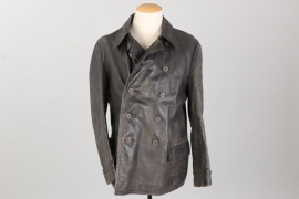 Kriegsmarine leather jacket - Rb-numbered