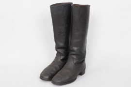 Heer officer's field boots - nailed sole