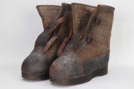 """Wehrmacht winter boots - """"Wachstiefel"""""""