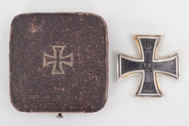 "1914 Iron Cross 1st Class ""800"" in case - Diksmuide 1917"
