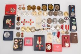 Germany - lot of badges and miniatures (postwar)