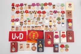 East Germany DDR - lot of badges