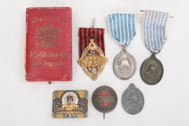 Imperial Germany - lot of fire brigade badges