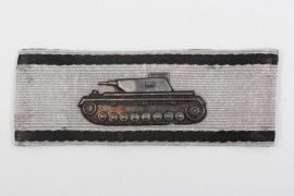 Tank Destruction Badge in silver